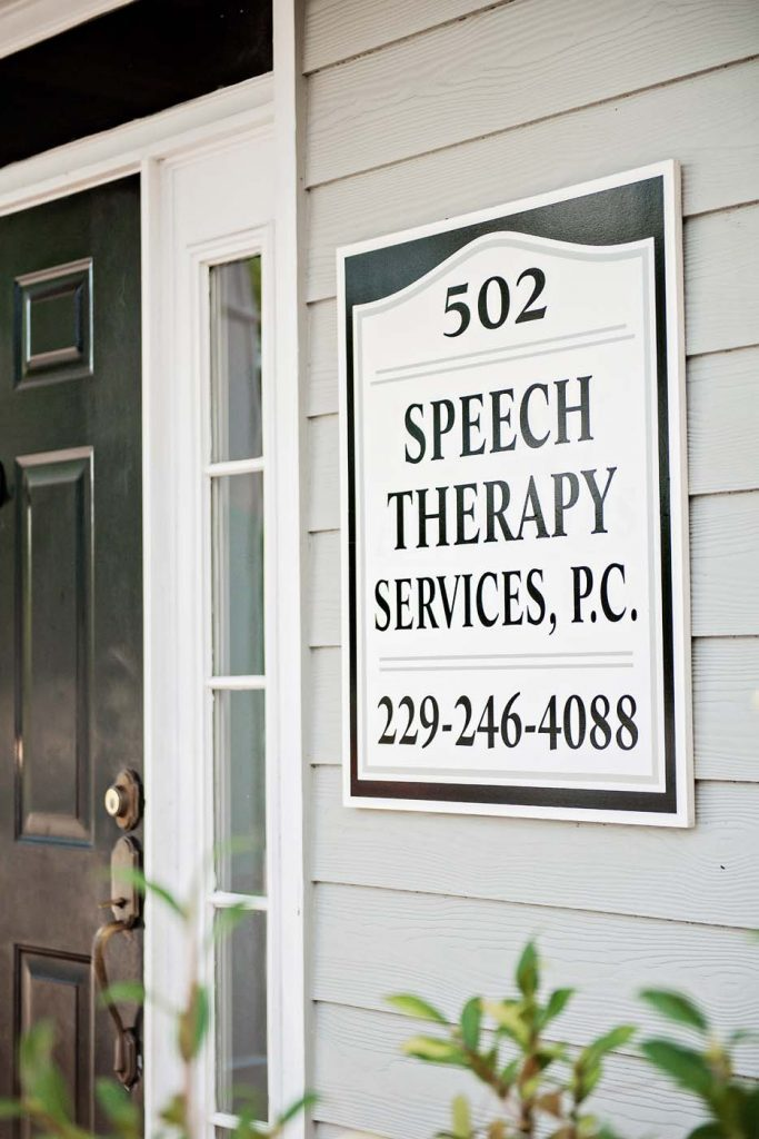 Speech Therapy Services, P.C. sign